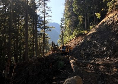 Sackum Road Construction – Spences Bridge, BC