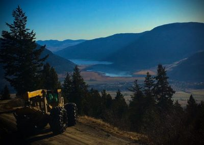 Clarke Lake Road Construction – Pentiction, BC