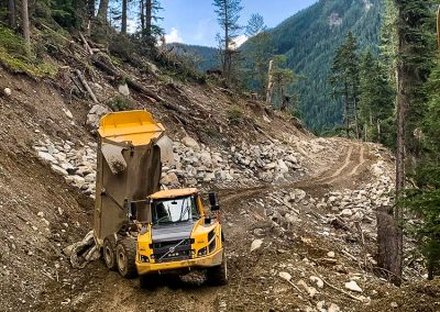 Argonaut Road Construction – Revelstoke, BC