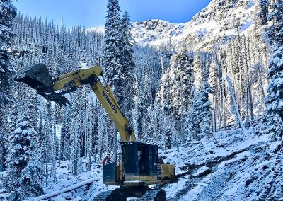 Wood River Road Maintenance – Mica, BC