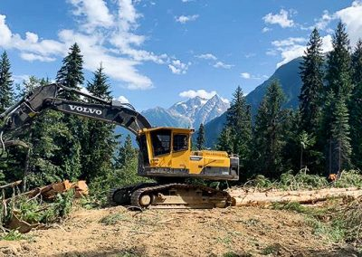 Wood River Road Construction – Mica, BC