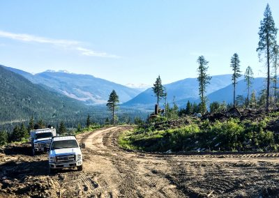 Sheep Creek Road Construction – Penticton, BC