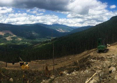 Sugar Lake Road Construction – Cherryville, BC