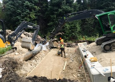Saunier North Arch Culvert and Road Construction – Penticton, BC