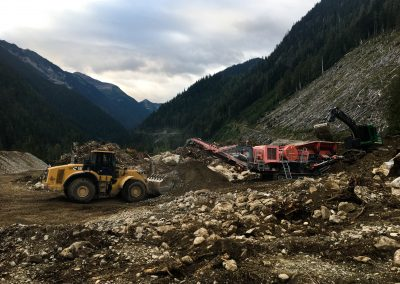 Nightmare Road Surfacing – Revelstoke, BC