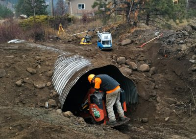 KVR Culvert Replacement/Maintenance – Summerland, BC