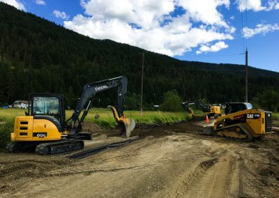 Back Enderby Road Upgrade – Armstrong, BC
